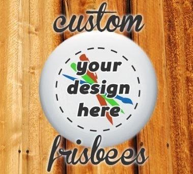 Custom flying sportdiscs made in germany